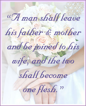 Mark 8 Bible verse on marriage